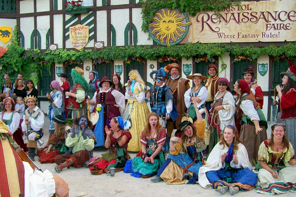 Cast members at the Bristol Renaissance Faire  Alwaysasking  Flickr