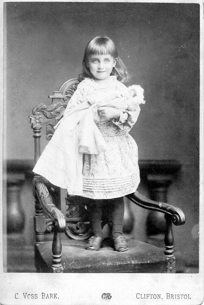 Victorian Cabinet Card Portraits Of Children In Bristol En