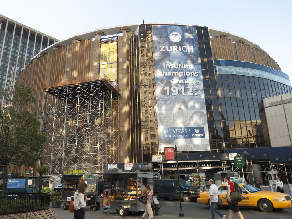 Time to leave penn station is under madison square garden - Madison square garden penn station ...