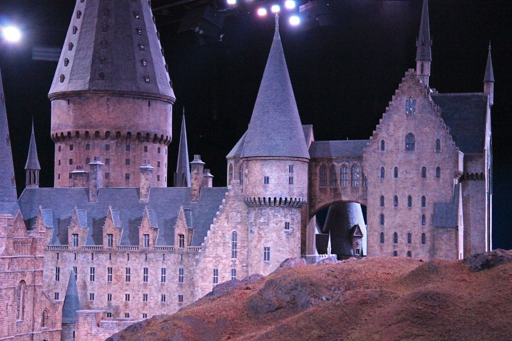 The Making Of Harry Potter  The Hogwarts Model