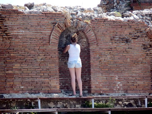 Taormina -  The secrets of the Roman crypt (Greek roman theater) | by Luigi Strano
