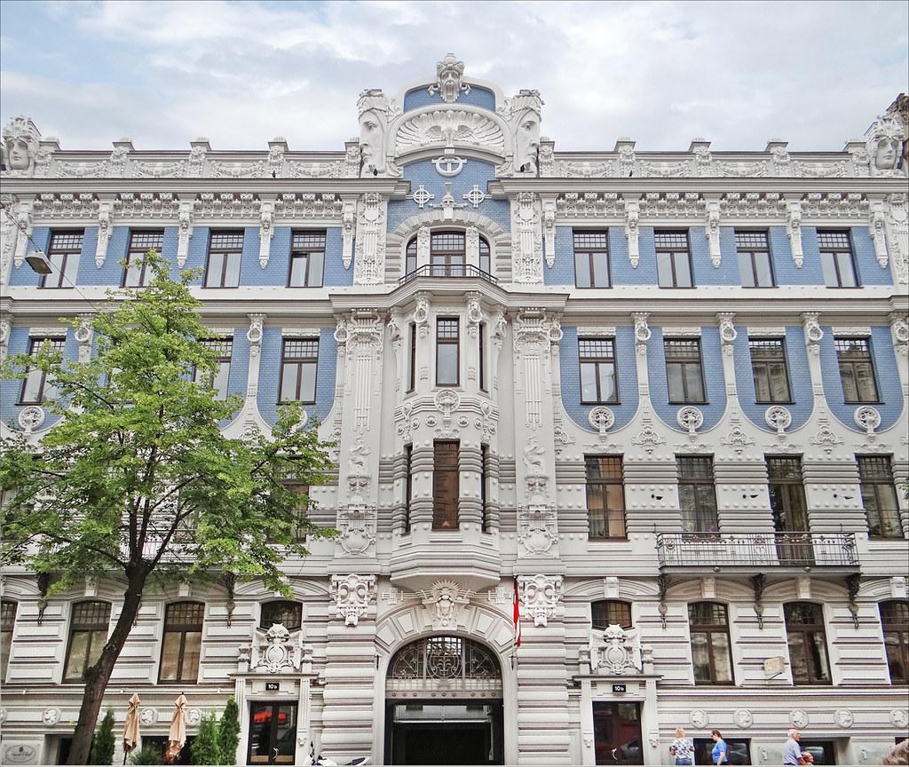 Immeuble art nouveau riga l 39 immeuble art nouveau for Architecte 3d wikipedia
