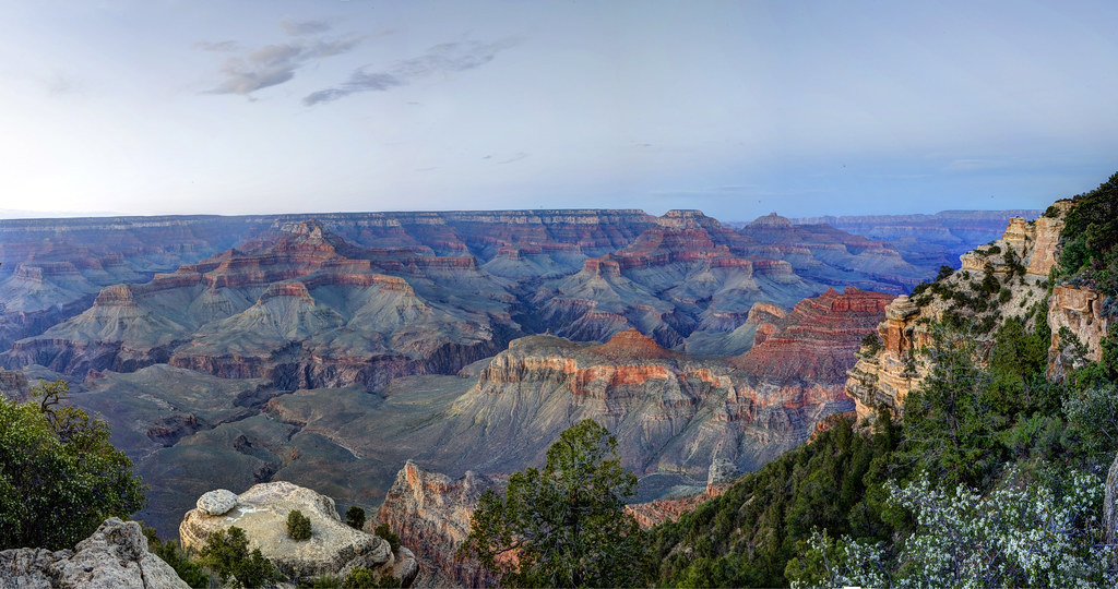 Grand Canyon National Park: Yaki Point After Sunset