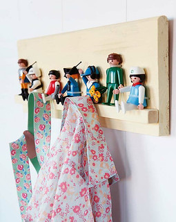 diy: playmobil coat rack | by the style files