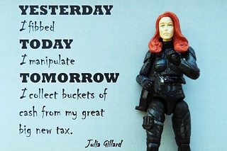 Gillard yesterday today tomorrow | by Leonard J Matthews