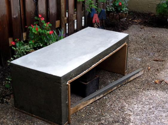 concrete coffee table diy wood coffee concrete coffee table by diy del ray flickr