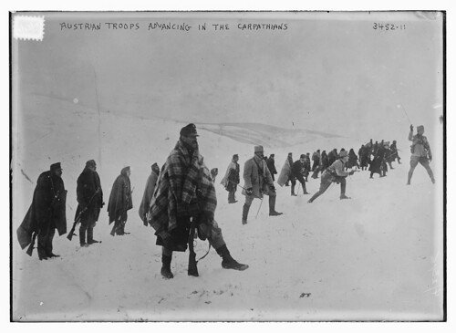 Austrian troops advancing in the Carpathians  (LOC) | by The Library of Congress