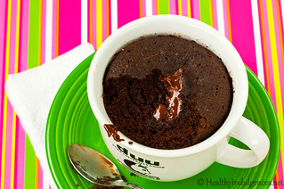 Instant Chocolate Cake In A Mug
