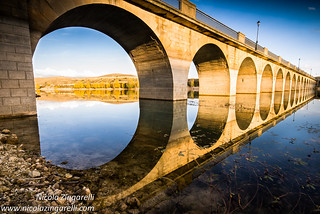 Maderuelo, the bridge over the Riaza river. Segovia, Spain | by Nicola Zingarelli