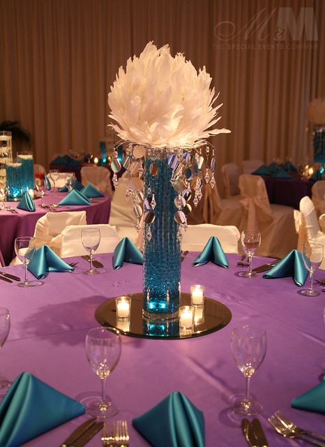 Feather ball centerpiece flickr photo sharing