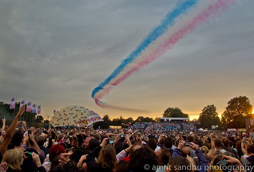 London 2012 - Red Arrows | by Amrit Sandhu Photography
