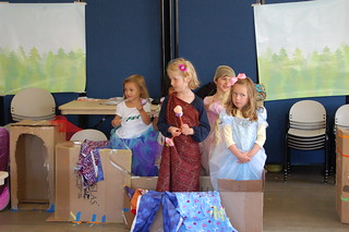 Princesses in their castle | by Bay Area Discovery Museum