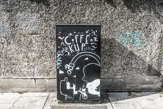 COFFEE PALS BY ROBERT MIROLO [DUBLIN CANVAS PAINT-A-BOX PROGRAMME]--119985 | by infomatique