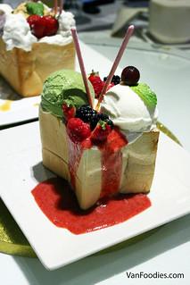 Matcha & Vanilla Cream Toast