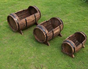... Half Barrel Garden Planters | By Hou Yankang