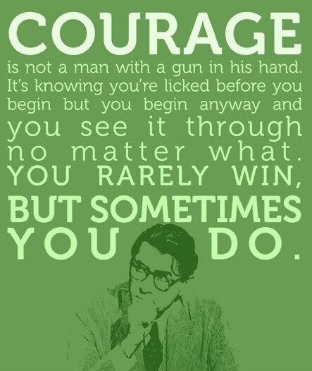 Good Quotes In To Kill A Mockingbird: Atticus Finch Quote On Courage