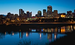 Edmonton Blue Hour | by Matthew P Sharp 1984