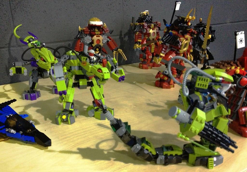 9455 fangpyre mech and other ninjago prototypes mark staff flickr - Lego ninjago le grand devoreur ...