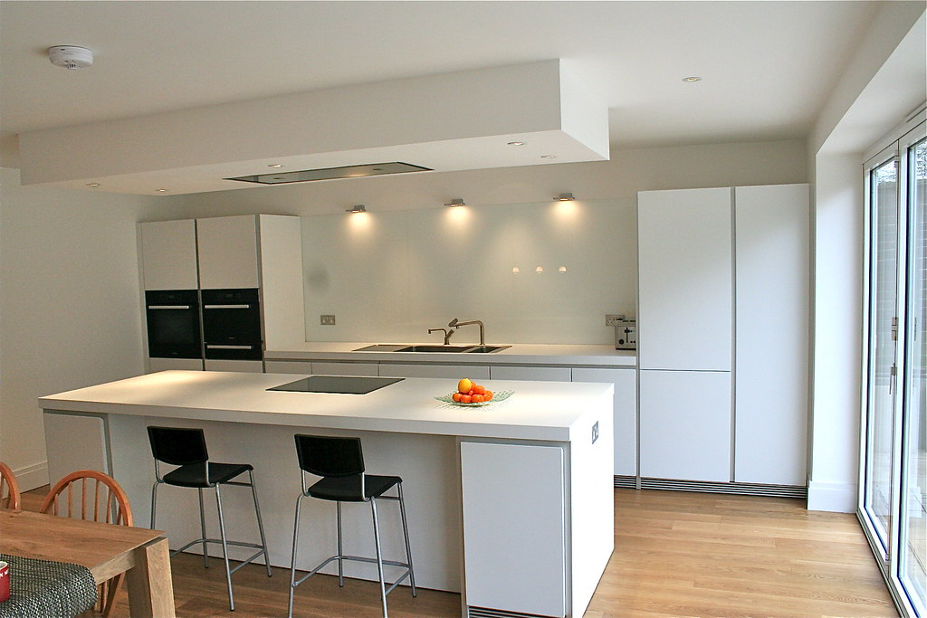 Bulthaup b1 kitchen in london house extension designed for New kitchen london