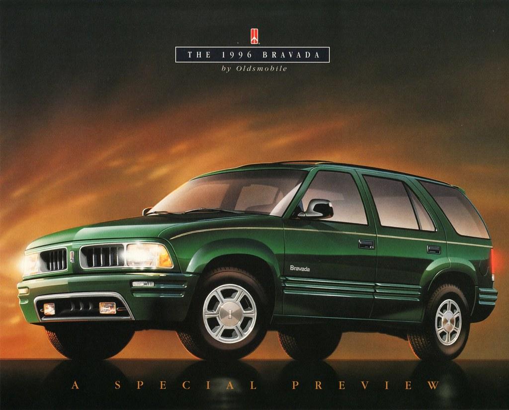 Oldsmobile Bravada 1996 1996 Oldsmobile Bravada