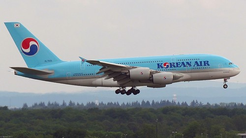 Korean Air - A380-861, HL7613 | by Bernd 2011