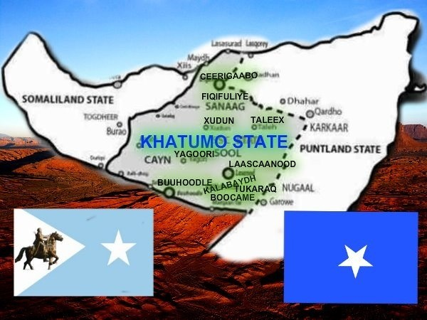 Map of Khatumo State of Somalia | This is the newly formed p… | Flickr