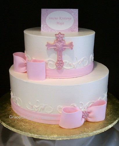 Baby Girl Birthday Cake Decorations