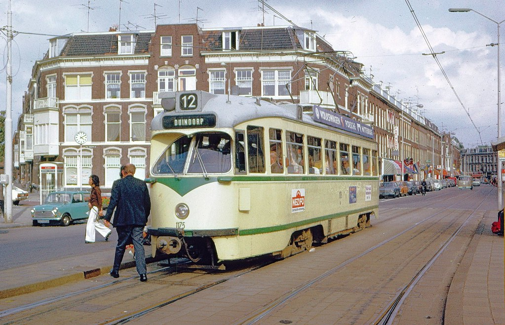 Htm den haag pcc car 1175 at paul kruger plein in 1974 for Auto interieur reinigen den haag