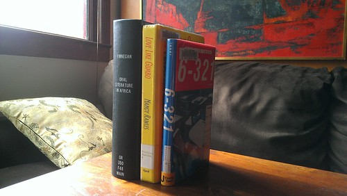 Three of the books we are trying to unglue at unglue.it | by Raymond Yee