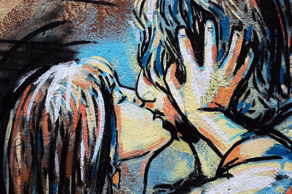 Love murales elena bernasconi flickr - Sculptures metalliques murales ...