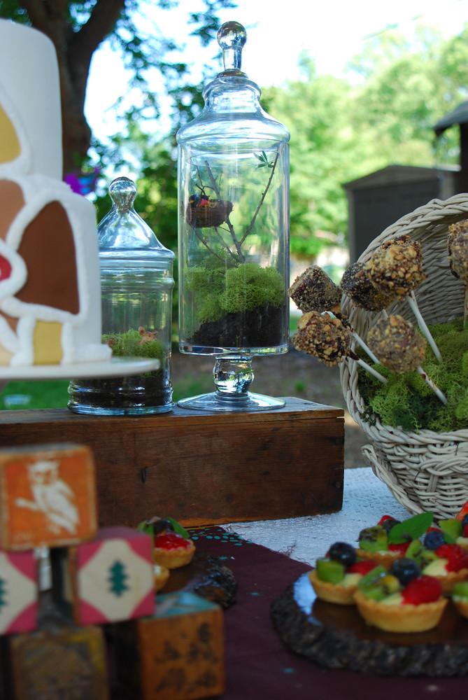 Woodland Enchanted Forest Baby Shower Dessert Table Flickr