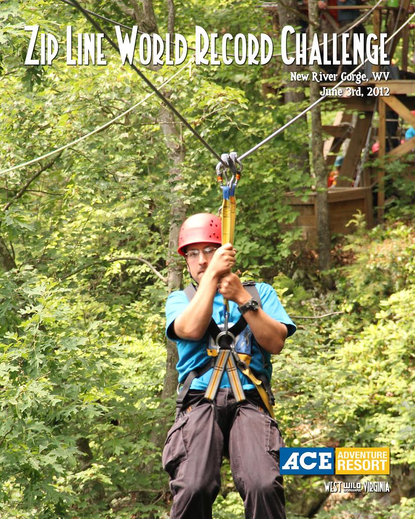 Zip Line World Record Holder Ace Adventure Resort 2012 Flickr