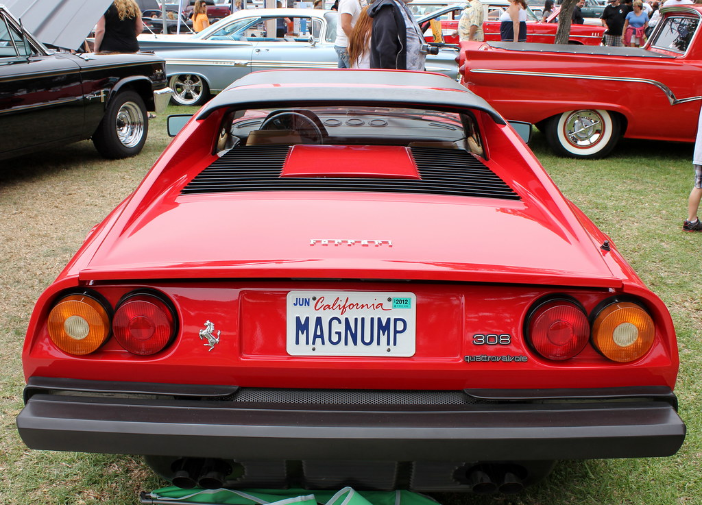 Magnum Pi Ferrari License Plate | www.pixshark.com ...
