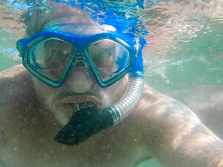 Day 170- Doing my best Jacques Cousteau imitation! | by Wishard of Oz
