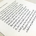 Hand-typeset Shakespeare Sonnet letterpress printed on Zerkall paper