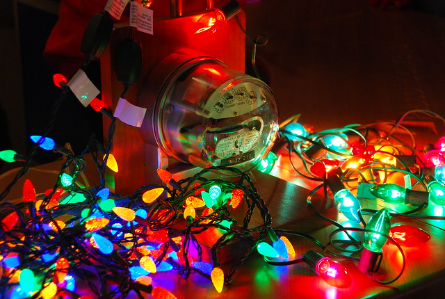 Christmas lights use power | ZooLights holiday light display ...