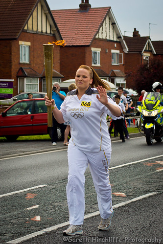 Olympic Torch Relay (Dunsville) - Katie Ogley | by Gaz - (Gareth Hinchliffe Photography)