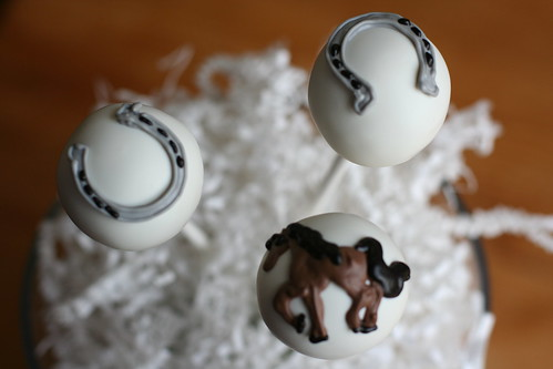 Equestrian Themed Cake Pops | by Sweet Lauren Cakes