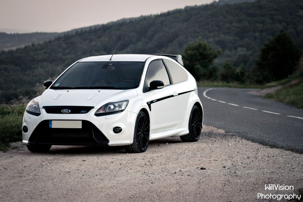 White Ford Focus Rs Stage 1 All Natural Light More On