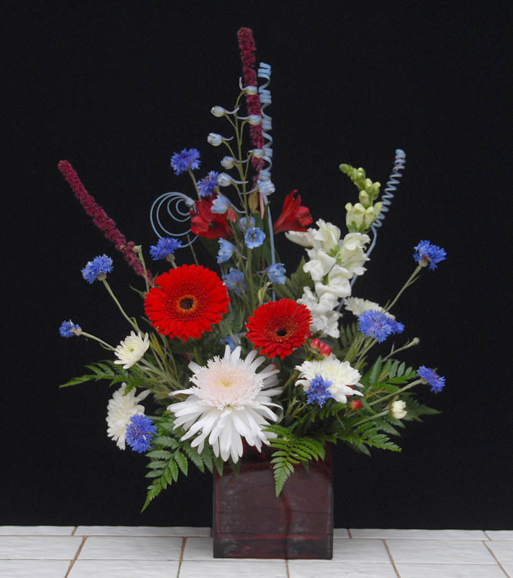 Silk Flowers For Church Altars: Independence Day Floral Designs From Rittners