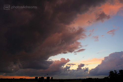 here comes the rain again... (sunset 7/10/2012) | by photos4dreams