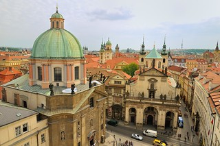 Prague : View from Charles bridge gothic tower - 1/4 | by Pantchoa