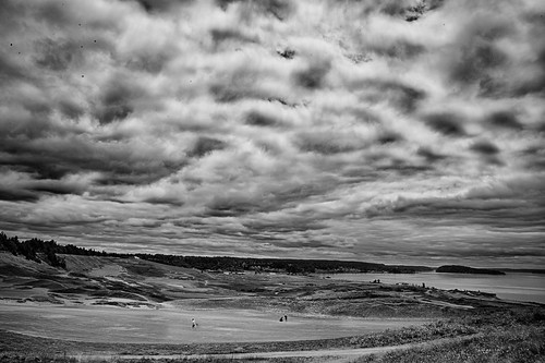 Chambers Bay Golf Course in B&W | by ChrisHaysPhotography