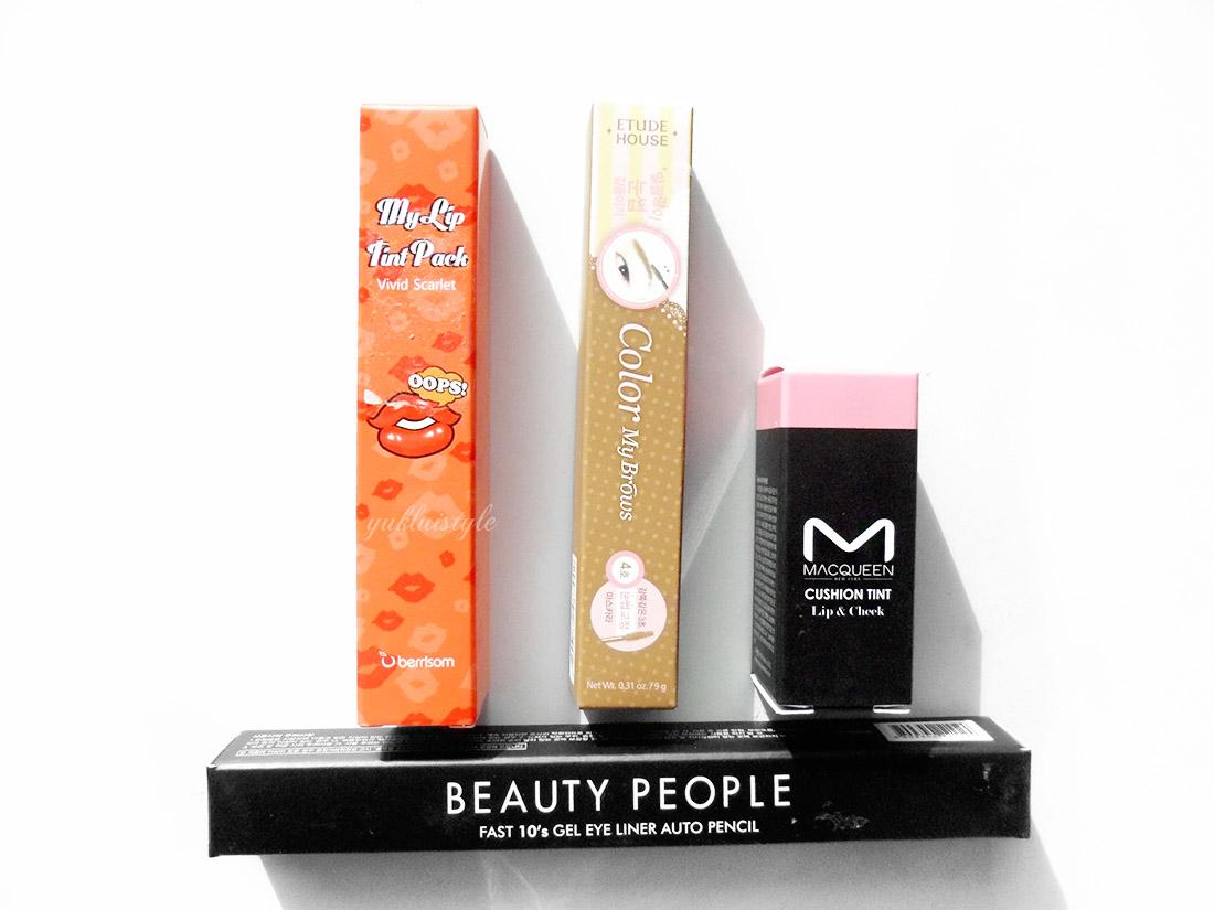 YesStyle Top 10 Must Try Korean Beauty Box etude house berrisom macqueen beauty people
