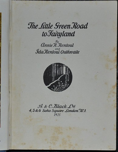 Little Green Road to Fairyland 1925 - title page | by AndyBrii