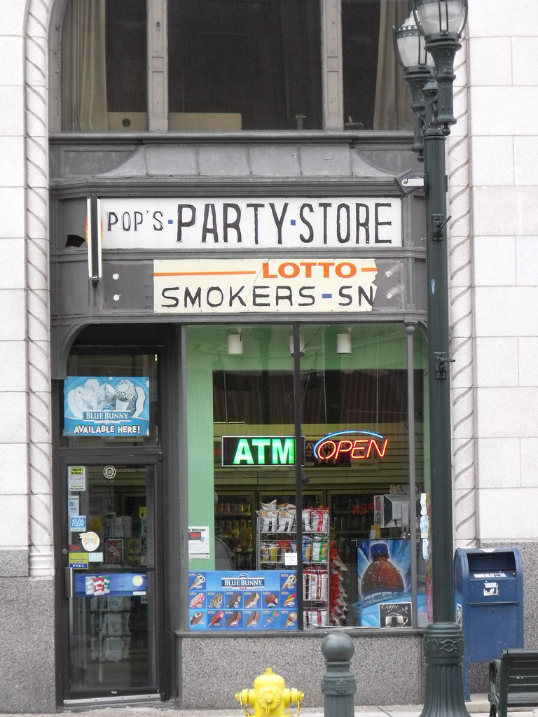 Party Store Downtown Pontiac Mi A Party Store In