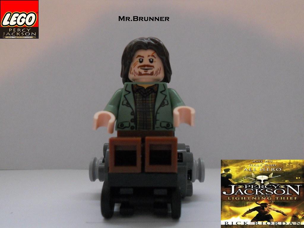 "LEGO Mr.Brunner by BC   LEGO Mr.Brunner from "" Percy ...  Lego Percy Jackson Luke"
