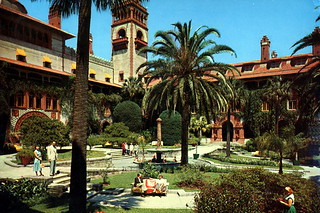 Gardens at the Hotel Ponce de Leon: Saint Augustine, Florida | by State Library and Archives of Florida