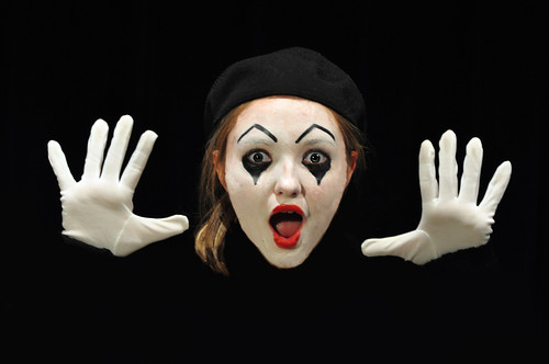Mime, take two | by Len Radin