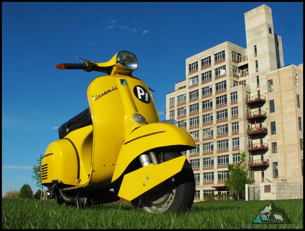 FLCL Harukos Vespa Super Sport 180 Scooter As A Surpris Flickr